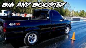 100 454 Truck BIG AND BOOSTED SICK SS TRUCK WITH A TURBO AT TRUCK WARS 4