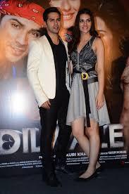 Shah Rukh Khan Kajol Varun Dhawan Kriti Sanon And Others At