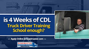 Is 3-4 Weeks Of Truck Driver Training School Enough? | Roadmaster ...
