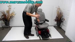 Jazzy Power Chairs Used by Pride Mobility Jazzy 1113 Ats Used Portable Power Chair Youtube