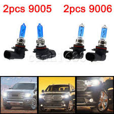 4x hid 9006 9005 6000k hb3 hb4 xenon halogen light bulb ebay