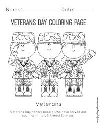 Veterans Day Coloring Pages Printable Kindergarten Archives Best Page Drawing