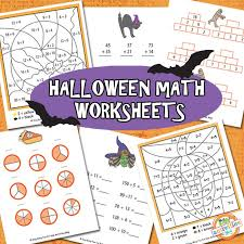 Halloween Math Multiplication Worksheets by Halloween Math Worksheets Free Kids Printable Kids Activities