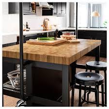 vadholma kücheninsel schwarz eiche 126x79x90 cm