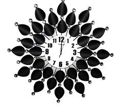 Wall Clock Clipart Black And White