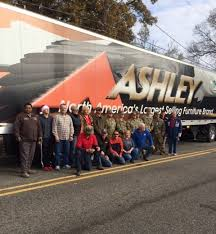 Wreaths Across Americas Trucking Tributes Present Steve Ralston And Ashley Furniture Industries