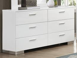 Rana Furniture Bedroom Sets by Jeremaine White Chest