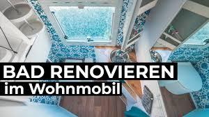bad renovieren im wohnmobil für unter 200 eur