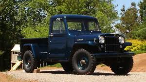 Willys Jeep Truck - For 7500 Its Willys Time Find Of The Week 1951 ... Blazing Blue 1941 Willys Pickup Goodguys Hot News Willys Jeep Truck 4x4 New Tires Paint Runs Great M38 Wikipedia Find Of The Week 1951 Jeep Truck Autotraderca Dustyoldcarscom 1961 Black Sn 1026 Youtube 1948 Wagon A Throwback To High School Classic Hemmings Day 1959 Utility Daily 1950 Used Jeepster For Sale At Webe Autos Serving Long Island 4500 1950s History Go Beyond Wrangler