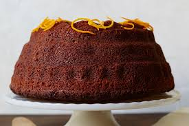 Orange Spiced Rye Honey Cake Recipe