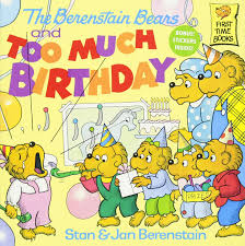 Berenstain Bears Christmas Tree Vhs by The Berenstain Bears Too Much Birthday First Time Books Amazon
