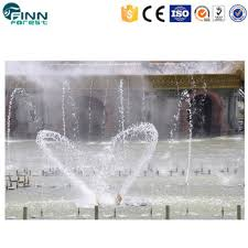 Beautiful OEM Garden Design Project Program Control Musical LED Lighting Enchanted Fountain