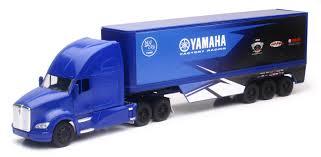 100 Semi Truck Toy REPLICA 132 SEMI TRUCK 17 YAMAHA RACE TRUCK NewRay S 10943