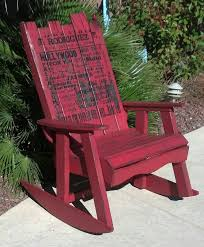 Rocking Chair Made From Pallets Pallet