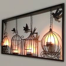 Home Design Wood Metal Wall Art Flower Rustic Floral Arthome Decor Pertaining To