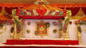 Flowers Decoration Nice Look 2 10 Wedding Stage With