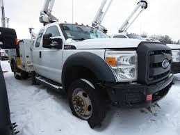 100 Boom Truck 2012 FORD F550 BUCKET BOOM TRUCK FOR SALE 11373