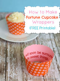 How To Make Fortune Cupcakes Free Printable