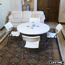Lifetime 48 (4ft) Round Commercial Table With 4 Chairs | Costco UK Costco Best Groceries Tools Thanksgiving Kitchn Set Of 4 Padded Folding Chairs In S66 Rotherham Restaurant Chairs Whosale Blue Ding Living Room Ymmv Timber Ridge Camp On Clearance Folding Card Table And Information Sco Lifetime 57 X 72 Wframe Pnic Broyhill Lenoir 5piece Counter Height Details About 5 And Black Game Party New Kids With Lime 6 Foot Adjustable Fold In Half 8 White Amateur Comparison Vs Walmart Mainstay