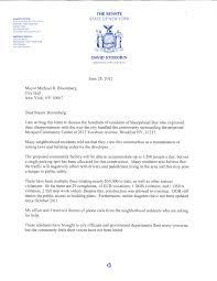 Senator Storobin s letter to Michael Bloomberg
