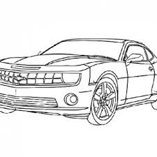 Transformers Bumblebee Car Coloring Pages