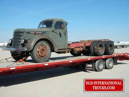 100 1940 Trucks D246F Full Tandem Old International Truck Parts