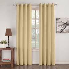 Boscovs Blackout Curtains by Donovan Crushed Microfiber Grommet Panel Boscov U0027s