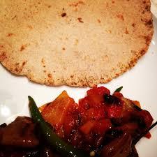 asma cuisine rogni roti asma khan s darjeeling express