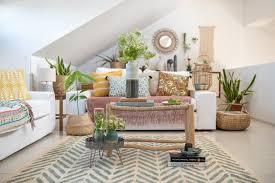 dekoideen für das wohnzimmer im boho look leelah