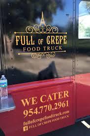 100 Crepe Food Truck Full Of Tiny Huge Flavors Jacksonville Restaurant