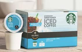 Starbucks Iced Coffee K Cups Deal