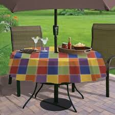 dining room elegant patio table cover with hole for umbrella round