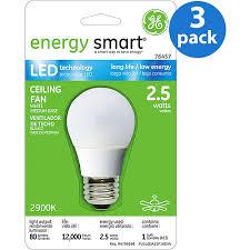 led bulb for ceiling fan lighting and ceiling fans inside ge led