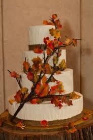 Beautiful Rustic Fall Wedding Cake Design By Jessica Strunk
