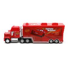 100 Lightning Mcqueen Truck Disney Pixar Cars McQueen Mack No95 1 55 Diecast