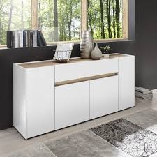 sideboard phyllida weiß wotan eiche nb 170 x 85 x 40 cm wohnzimmer schrank möbel
