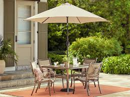 Patio Umbrella And Set