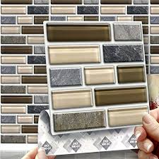 8 glass tablet effect wall tiles 2mm thick and solid self