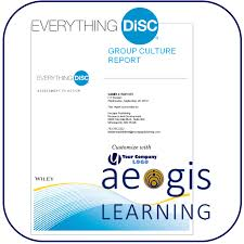 Everything DiSC Group Culture Report Aegis Learning