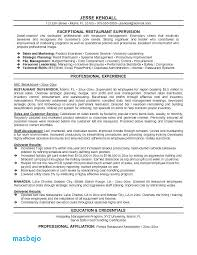 Restaurant Manager Resume Examples Airport Operations Management Resumes