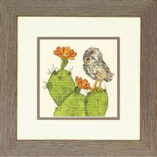 100 Robbin Rawlings Prickly Owl Dimensions Counted Cross Stitch_7065184