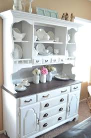White Dining Room Hutch Kitchen Sideboards Ideas Build Your Own
