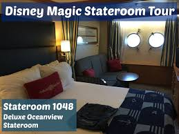 Disney Wonder Deck Plan by A Video Tour Of The Disney Magic Stateroom 1048 Deluxe Oceanview