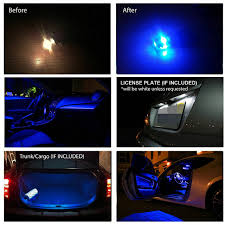 Free Shipping 11Pcs Lot Car Styling Xenon White Canbus PackageKit LED Interior Lights For Audi A4 B5 8D Avant Facelift
