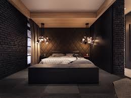 Dark Bedroom Design Interior Ideas