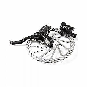 Clarks Clout-1 Front Hydraulic Disc BRAKE, 180mm, Is Mount