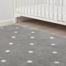 len teppich punkte grau 133x160 cm