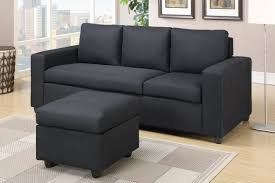 Black Sectional Living Room Ideas by Black Fabric Sectional Sofa Steal A Sofa Furniture Outlet Los