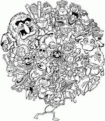 Munny Coloring Page