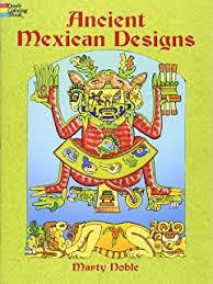 Ancient Mexican Designs Dover Design Coloring Books